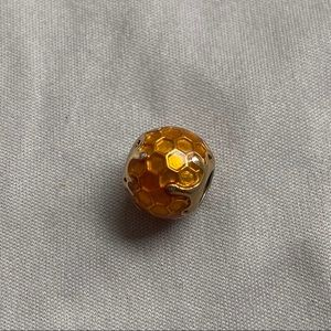 🍯Dripping Honey Comb Pandora Charm